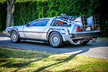 Time Travel in a DeLorean Time Machine and help support the Child Cancer Foundation