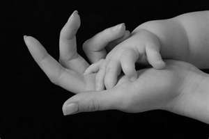 I love to hold their hands.   On Kids, For Bella, Beck ...