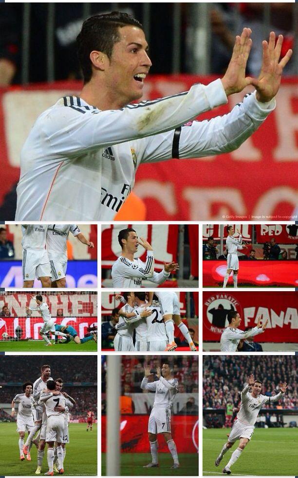 4/29/14 • REAL MADRID 4-0 BAYER MUNICH • HALA MADRID!! • POR LA DECIMA!!!