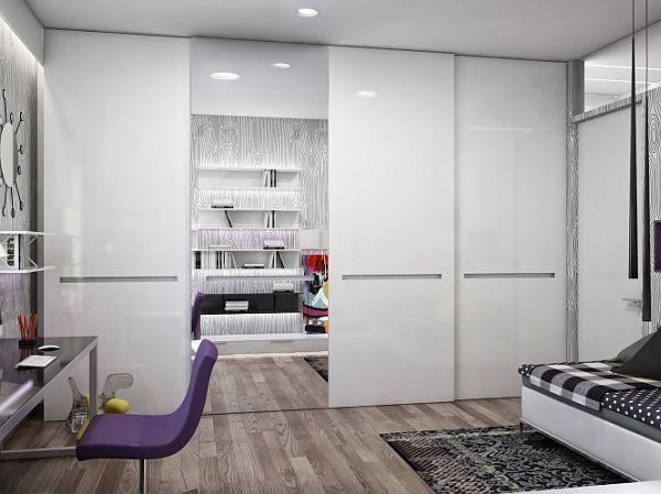 Modern Multifunctional Apartment. Modern Study RoomsStudy Room DesignPurple  ... Part 96