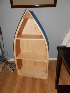 Picture of How to build a boat shelf.