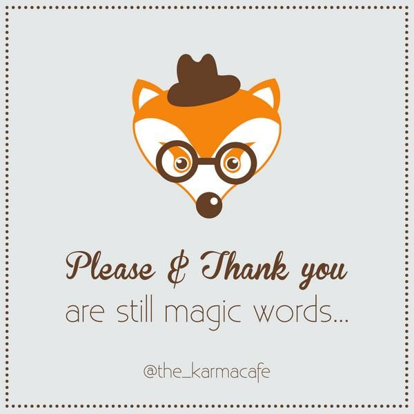 please and thank you are still magic words - Поиск в Google