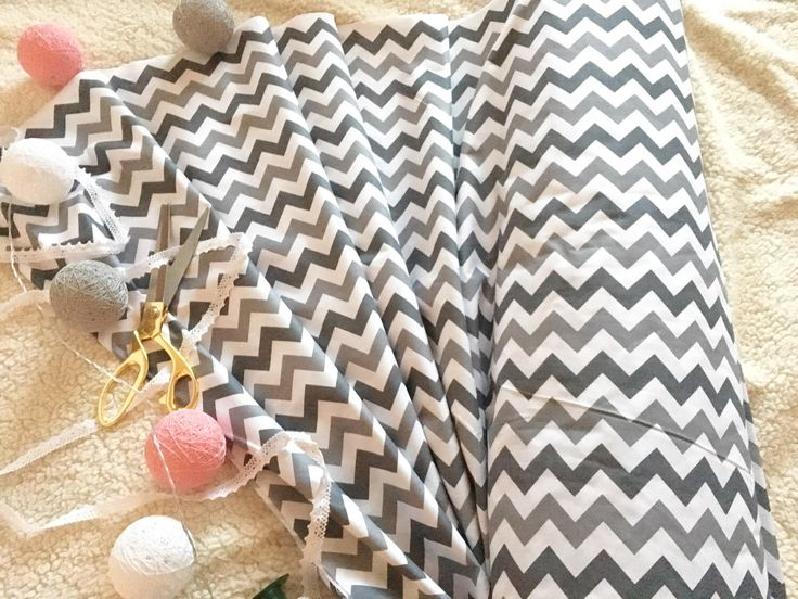 A personal favorite from my Etsy shop https://www.etsy.com/listing/497548026/half-metre-05m-cotton-fabric-zigzag