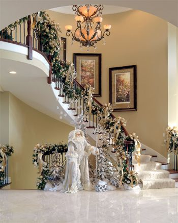 Wedding Decorations For Spiral Staircases