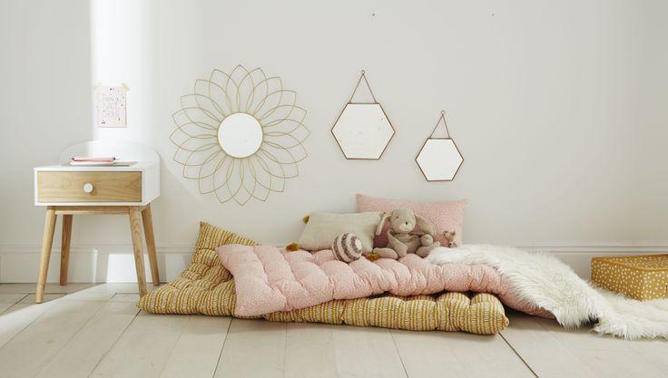 VERTBAUDET - miroir, tapis de sol, table de nuit ... toute la décoration pour accessoiriser la chambre de votre enfant.