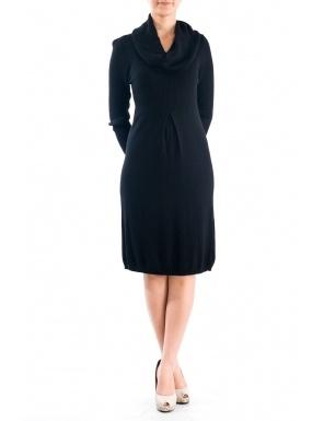 Rochie tricot guler sal Negru  Brand: Cortifiel