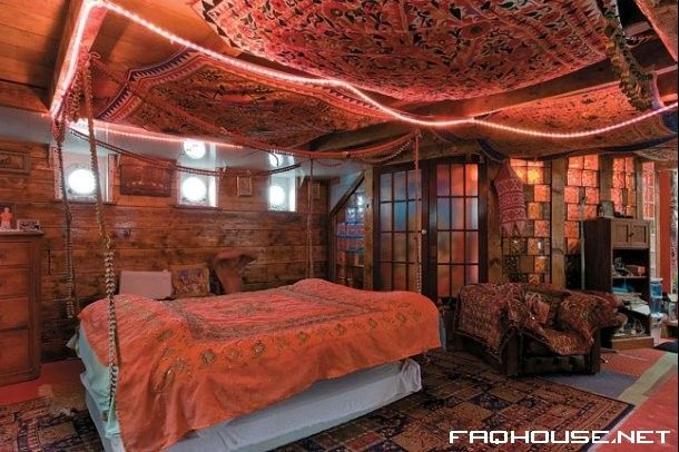 Indian bedroom false ceiling