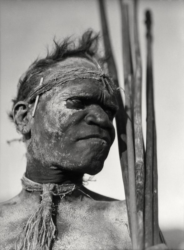 Aboriginal tribesman, Palm Island, Queensland, 1930 by E.O. Hoppe.