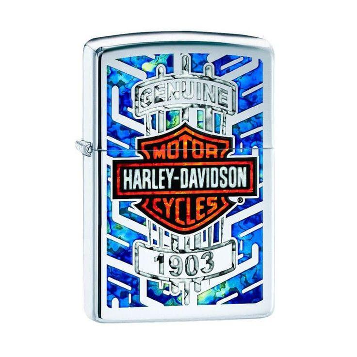 Isqueiro Zippo 29159 Harley-Davidson® Fusion Polido - Gerilu.com.br