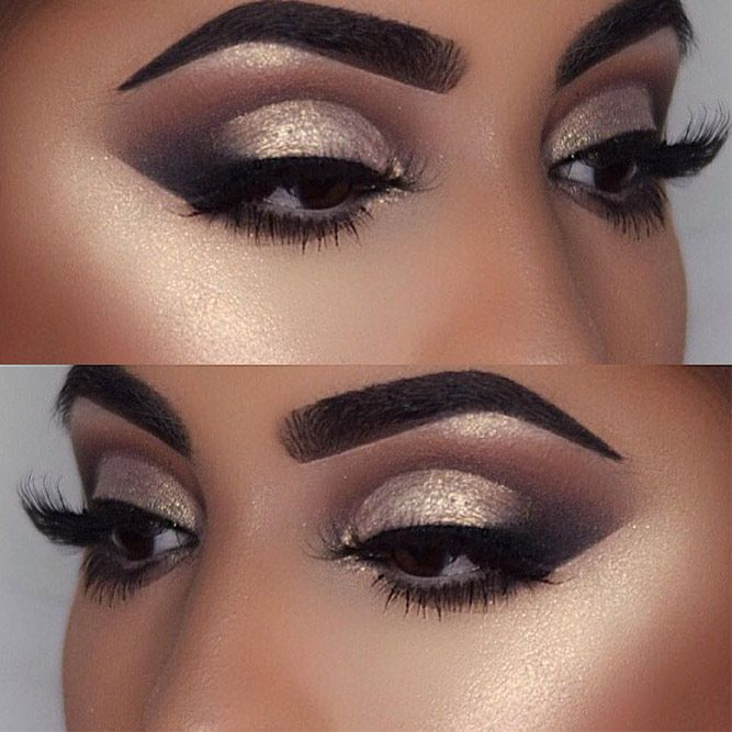 Dramatic eye makeup for dark skin 2017 pictures