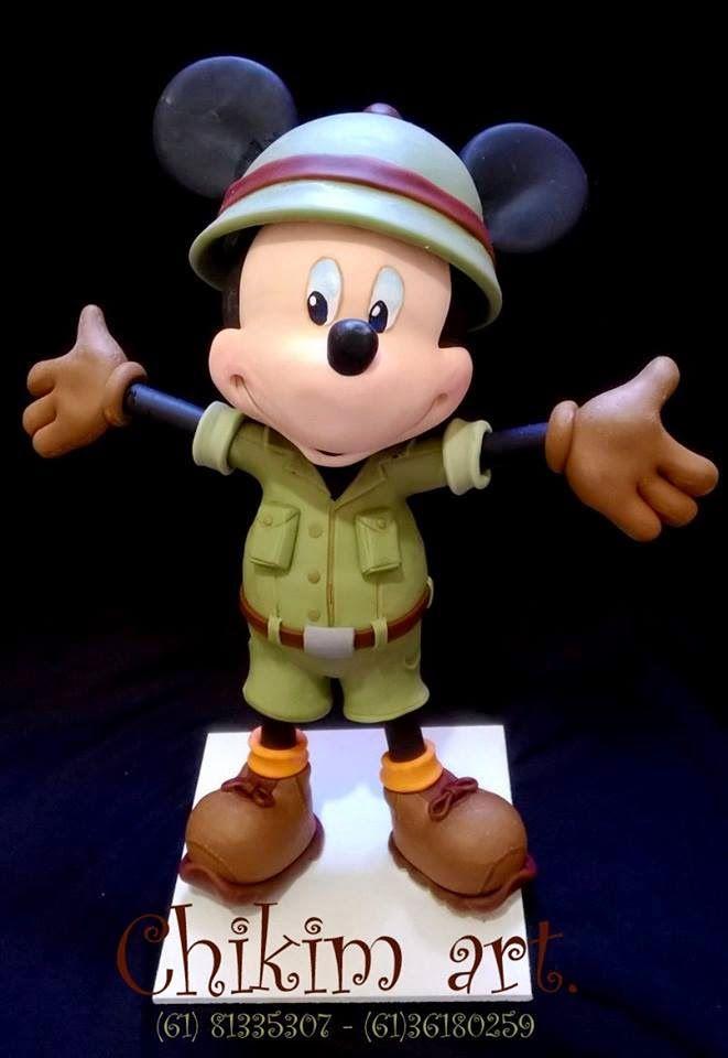 ChikimArt: Mickey safari
