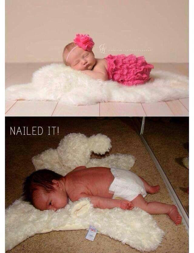 Poor baby! Lol