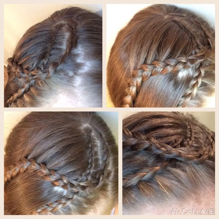 Double Dutch lace braid  crossover