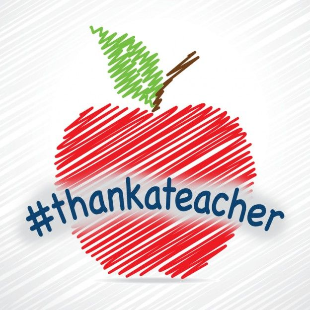 #THANKATEACHER AND SHARE ON TEACHER APPRECIATION DAY  Tuesday, May 6 is National Teacher Appreciation Day, and we want your help in thanking a teacher that has inspired you.    #TeacherAppreciationDay