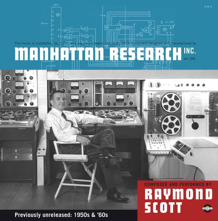 Basta 3090451   Raymond Scott   Manhattan Research, Inc.   3x Vinyl Set