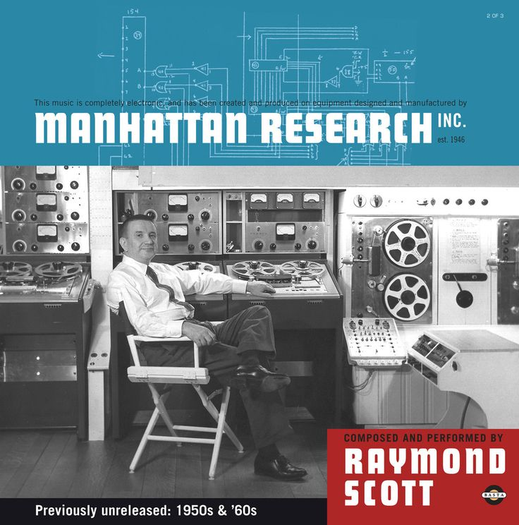 Basta 3090451 | Raymond Scott | Manhattan Research, Inc. | 3x Vinyl Set
