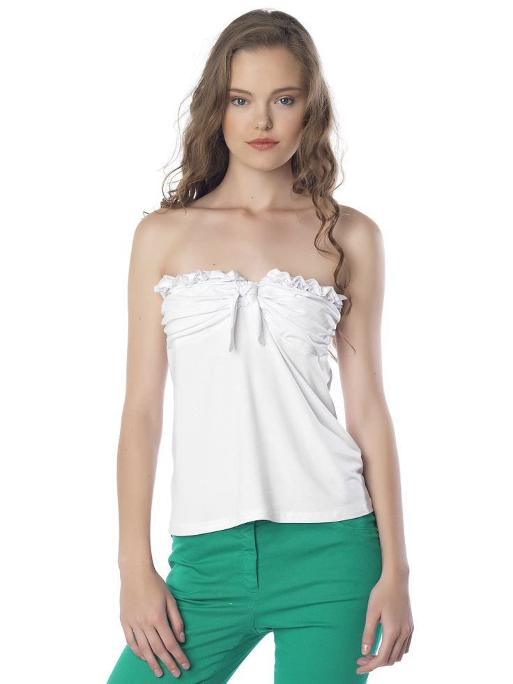 #strapless_top#white