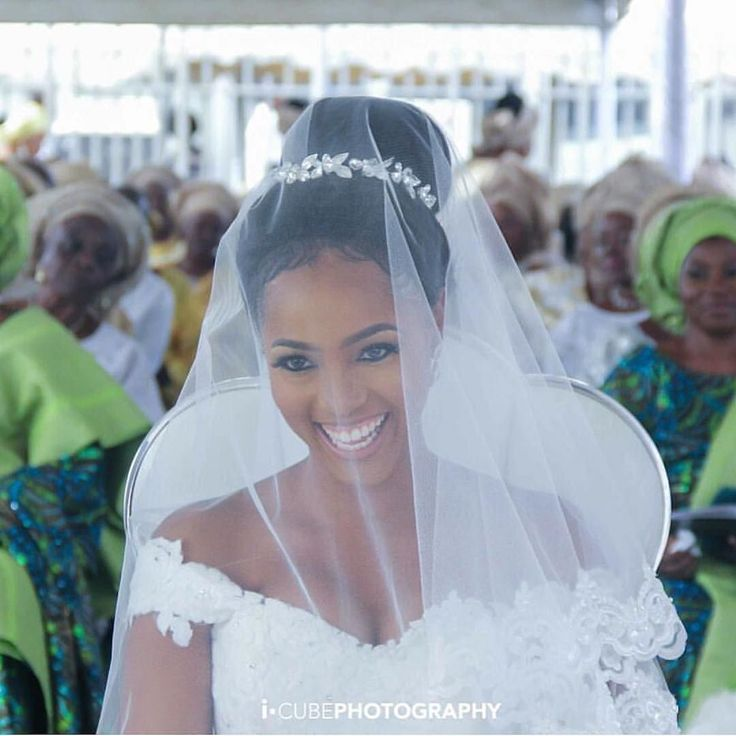 Such a beautiful bride  #Irebola2016 : @icubephotography  #BellaNaijaWeddings #TheWeddingOne