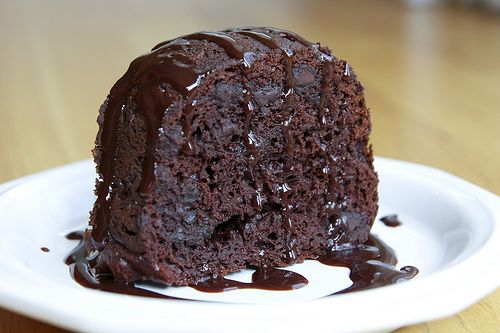 Ingredients1 (18.25 oz.) chocolate cake mix1 (3.4 oz.) package instant chocolate pudding mix2 cupssour cream3 eggs⅓ cup vegetable oil½ cup water2 cups semi-sweet chocolate chipsDirectionsPreheat o...