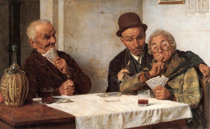 EUGENIO ZAMPIGHI - faccia da poker