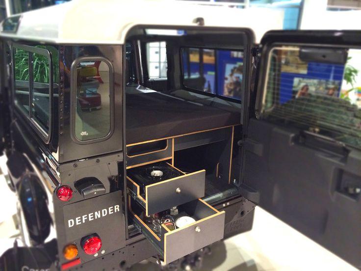 Verschaffen Sie sich einen Überblick über unsere Stecksysteme für den Land Rover Defender 110 Station Wagon.