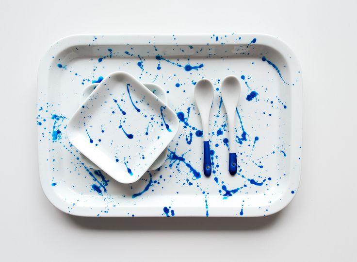 Stänkmålat porslin | Anna María