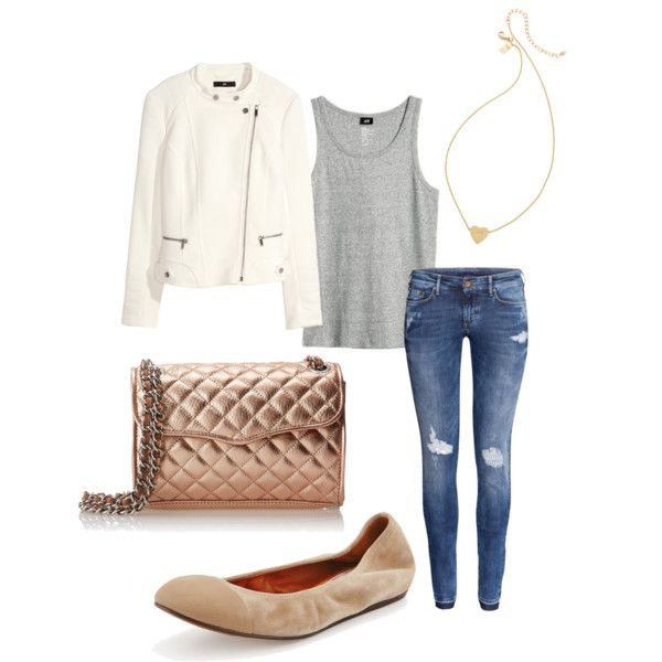 Untitled #190 by serdarsa on Polyvore featuring H&M, Lanvin, Rebecca Minkoff and Kate Spade