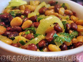 Вегетарианский рецепт пряной тушеной фасоли