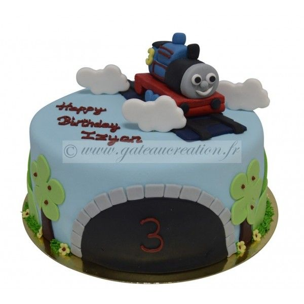 Image de gateau thomas le train