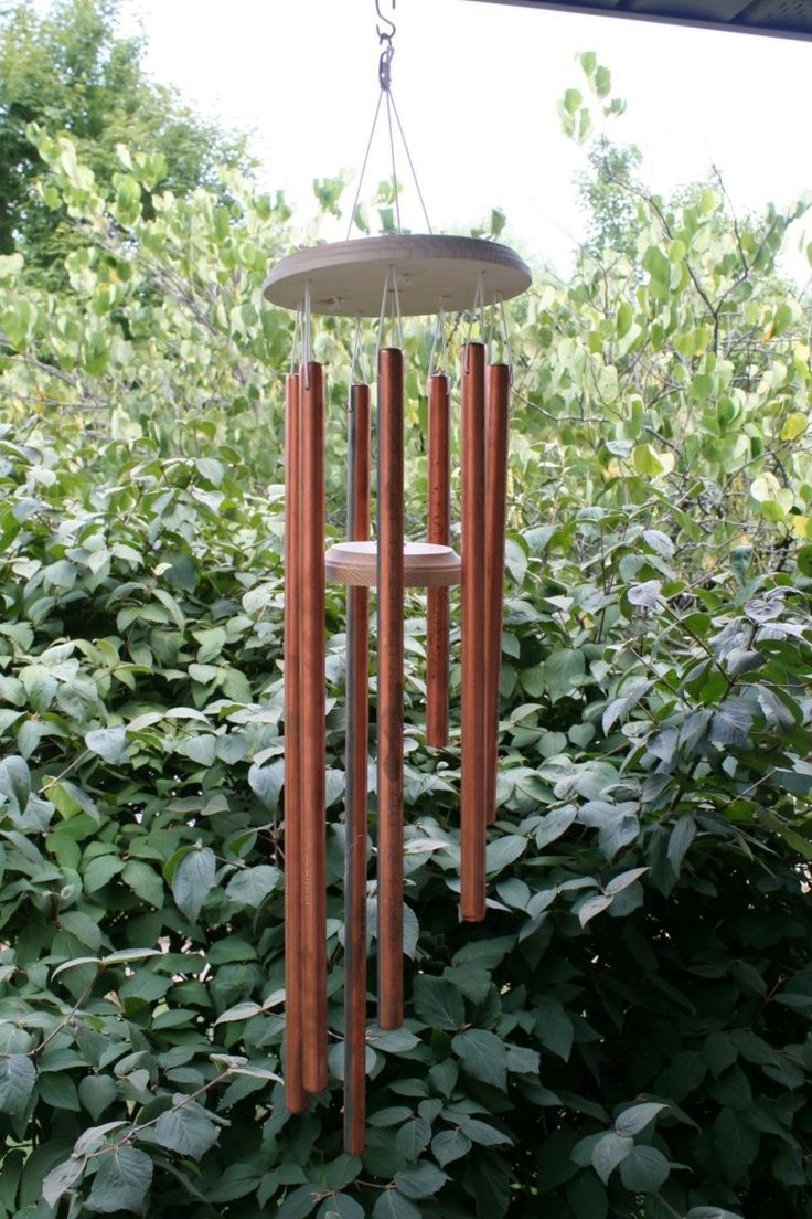DIY Copper Garden Projects • Lots of Ideas & Tutorials! Including this copper wind chime project with complete instructions from 'chica and jo'.