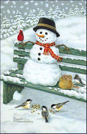 SnowMan -  SnowMan - Postcards -  snowman, greetings, postcard, ecard, xmas, christmas, holidays, free, clipart,