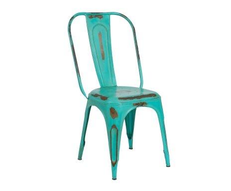 Silla Antic – verde azulado  $94
