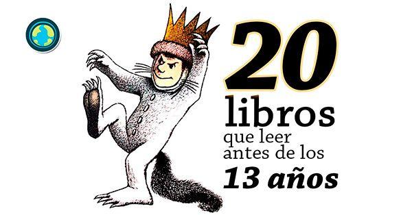 En Mundo Primaria te presentamos una lista de 20 libros que leer antes de los 13 años. ¡Encuentra el mejor para cada edad!