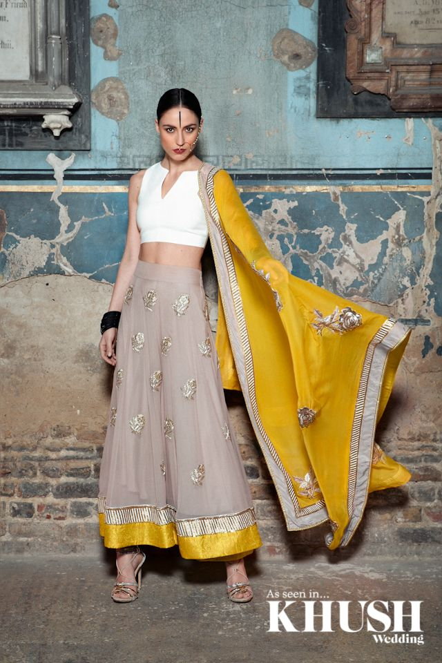 Looking for a unique piece for the seasons weddings? check out the premier destination for contemporary and couture Indian fashion My Trousseau​ +44(0)20 7693 7665 info@mytrousseau.co.uk www.mytrousseau.co.uk