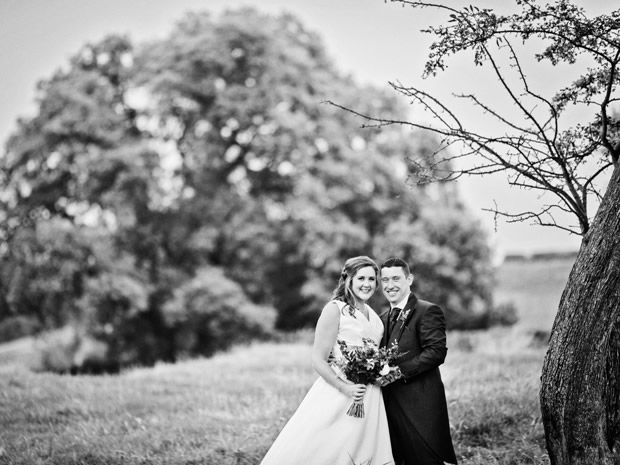 Helen Cayley and Stephen Nickson got married at The Kingscote Barn in #Tetbury. Image © Fear Photography. #realwedding #cotswolds