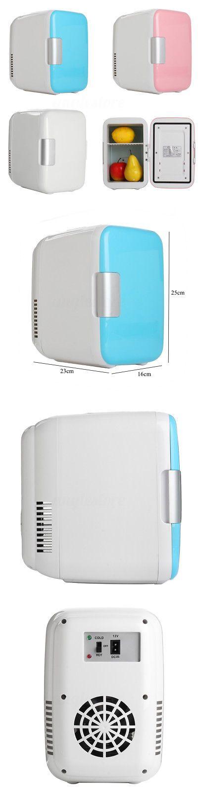 Mini Fridges 71262: Portable 4L Refrigerator Fridge Cooler Warmer Car Freezer Boat Home Office Us -> BUY IT NOW ONLY: $30.99 on eBay!