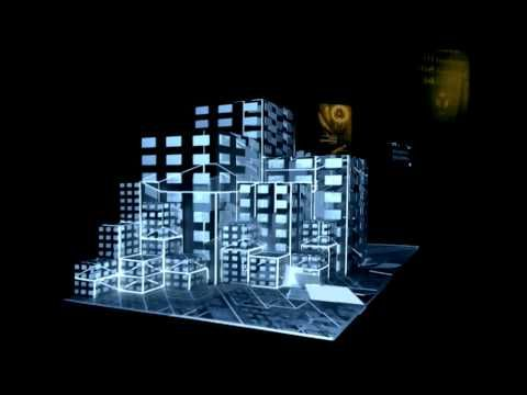 International Video Mapping Competition - projection mapping on 3D cubes at Paris - YouTube
