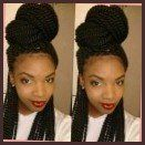 40 Senegalese Twist Hairstyles For Black Women | Herinterest Regarding Hairstyles For Long Senegalese Twists Hairstyles For Long Senegalese Twists Intended For  Desire