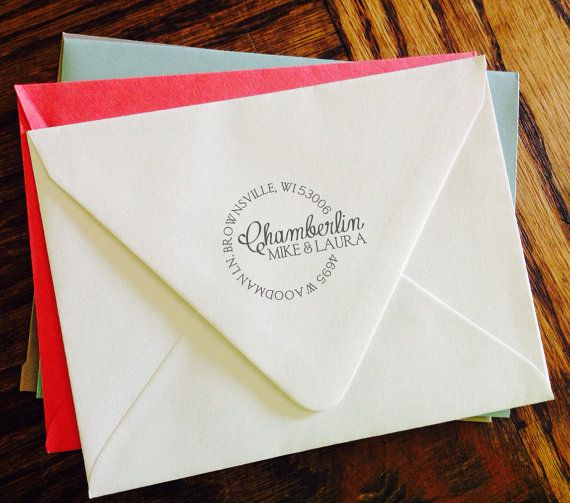 Personalized Address Stamp, Self Inking, Return Address Stamp, , Wedding stamp, Housewarming Gift - FREE SHIPPING
