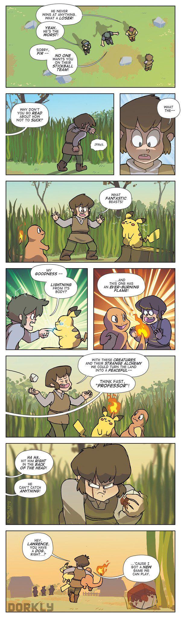 """The Discovery of Pokémon"" #dorkly #geek #pokemon"