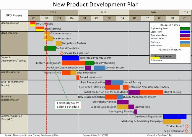 Design And Development Plan Template New Product Development