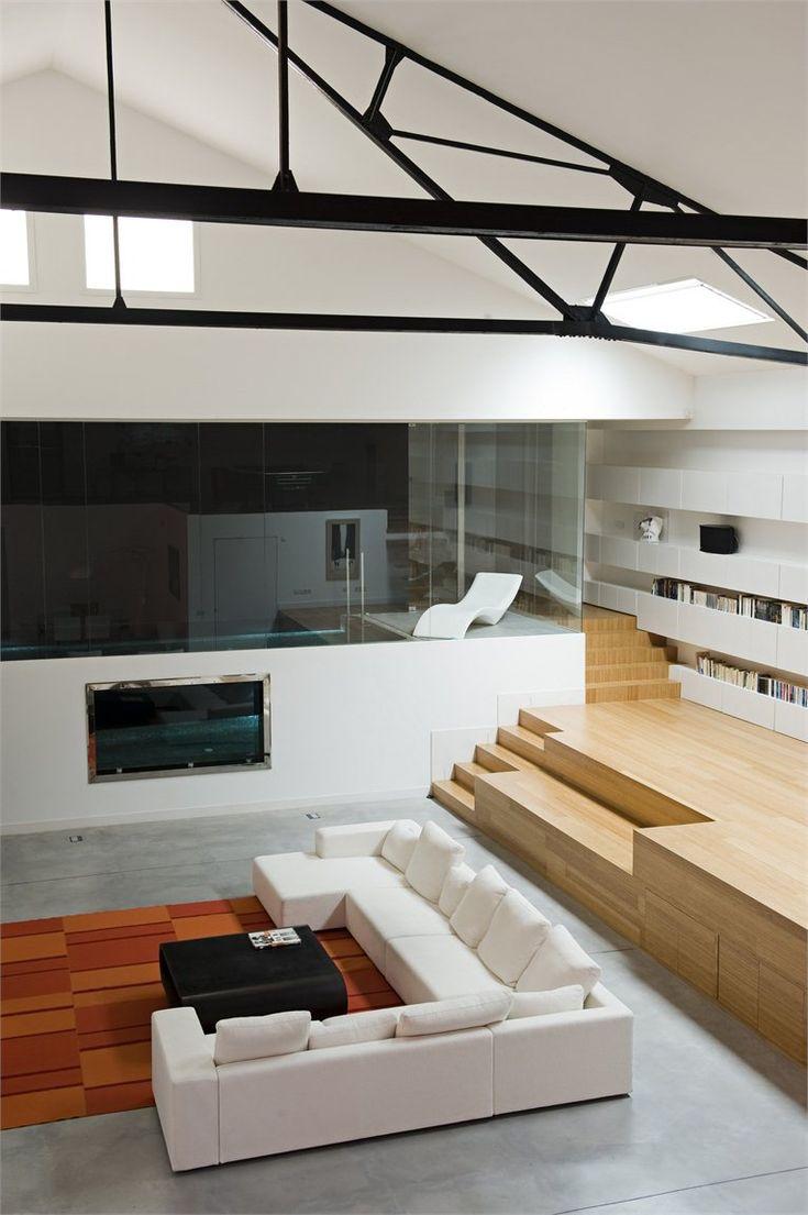 The 'Loft Bordeaux' located in Bordeaux, France - Designed by Teresa Sapey  Estudio