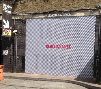 Wahaca launching DF/Mexico diner at the Old Trumen Brewery in Brick Lane