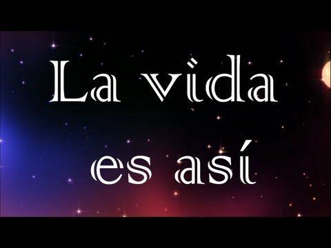 La vida es así - Nena Daconte - Letra HD - YouTube