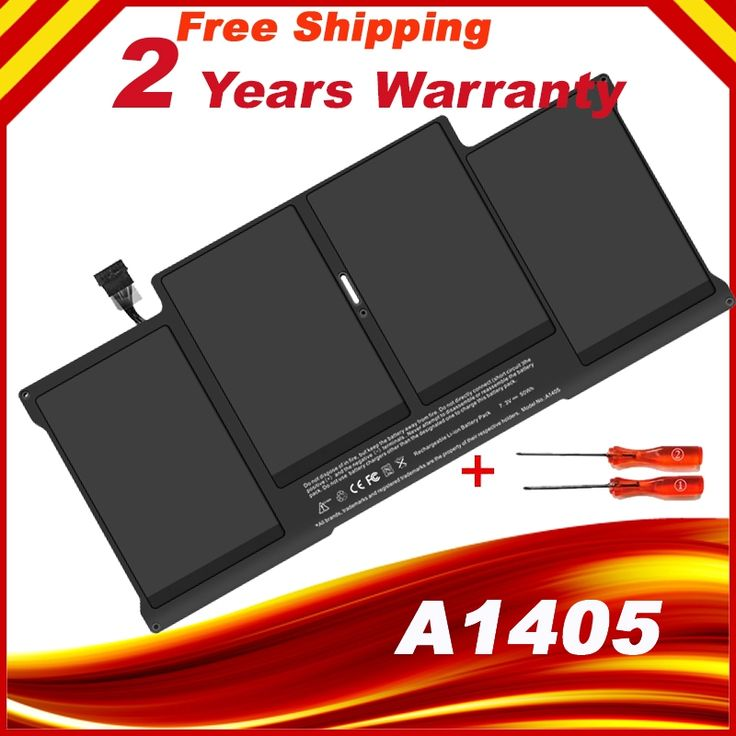 "Special Price Battery A1405 For MacBook Air 13"" A1369 year 2011 & A1466 + Gift Screwdrivers"
