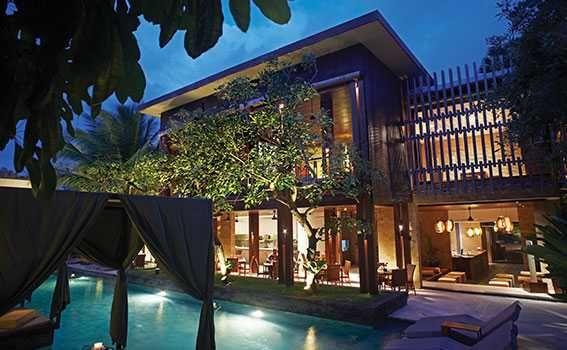 Rush Bamboo restaurant Seminyak restaurant