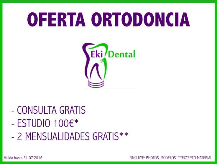 Nuestra #oferta #ortodoncia!!