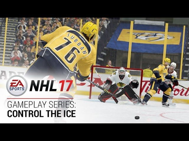 NHL 17 – Gameplay Series: Control the Ice