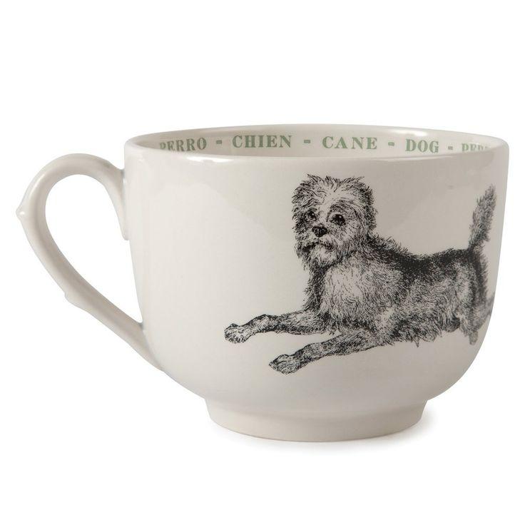 #Canine #Mug by sir madam #Dog #Coffee #VivirBonito Visíta nuestra página www.juliana.mx
