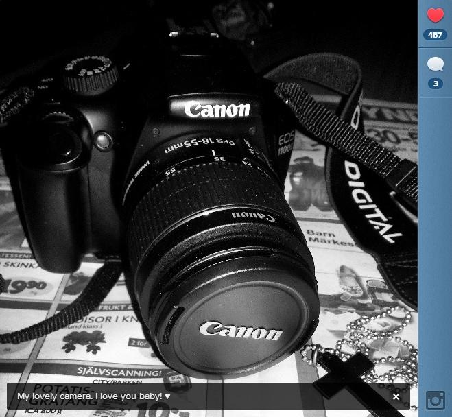Min Canon EOS 1100D
